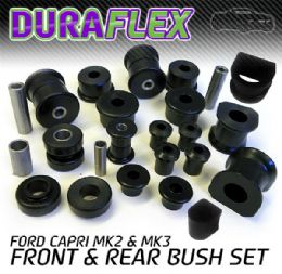 FORD CAPRI MK 2 & MK 3 FRONT AND REAR BUSH SET
